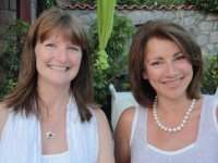 Your hosts on the Greek Yoga Holiday, Linda and Hilde